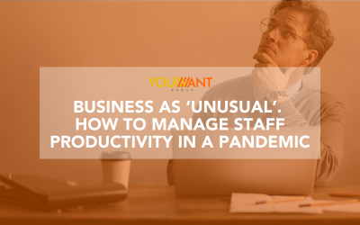 Business as 'unusual'. How to manage staff productivity in a pandemic