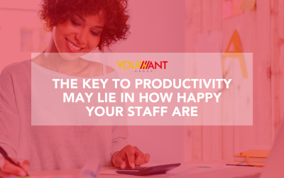 The Key to Productivity May Lie in How Happy Your Staff Are